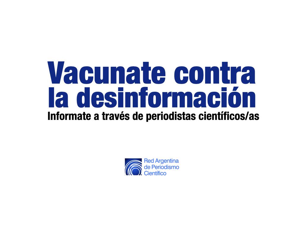 Vacunas contra la desinformación